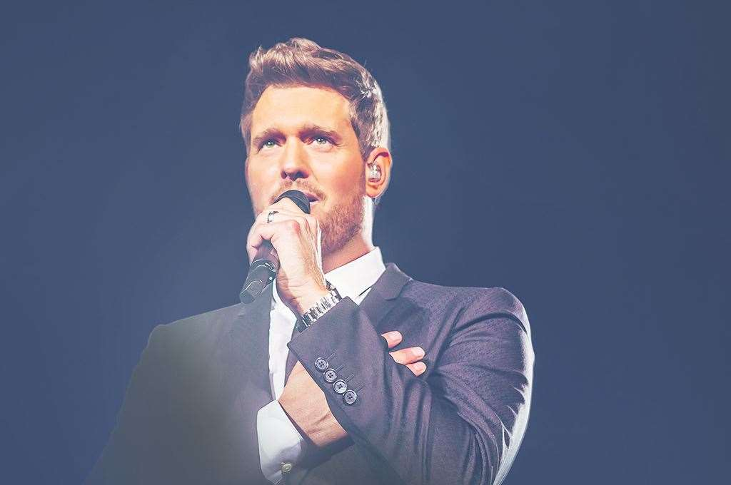 Michael Bublé will now come to Canterbury in 2022