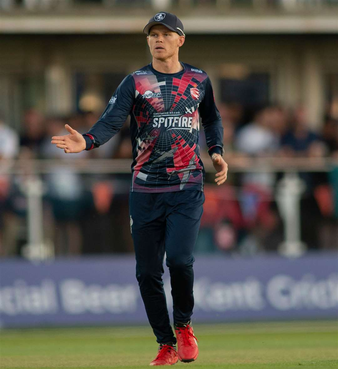 Kent captain Sam Billings has signed a contract extension. Picture: Ady Kerry