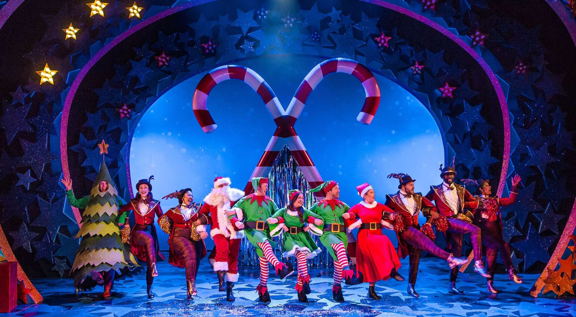 Nativity! the musical is being performed at The Marlowe theatre this week. Pic: The Marlowe (21533178)
