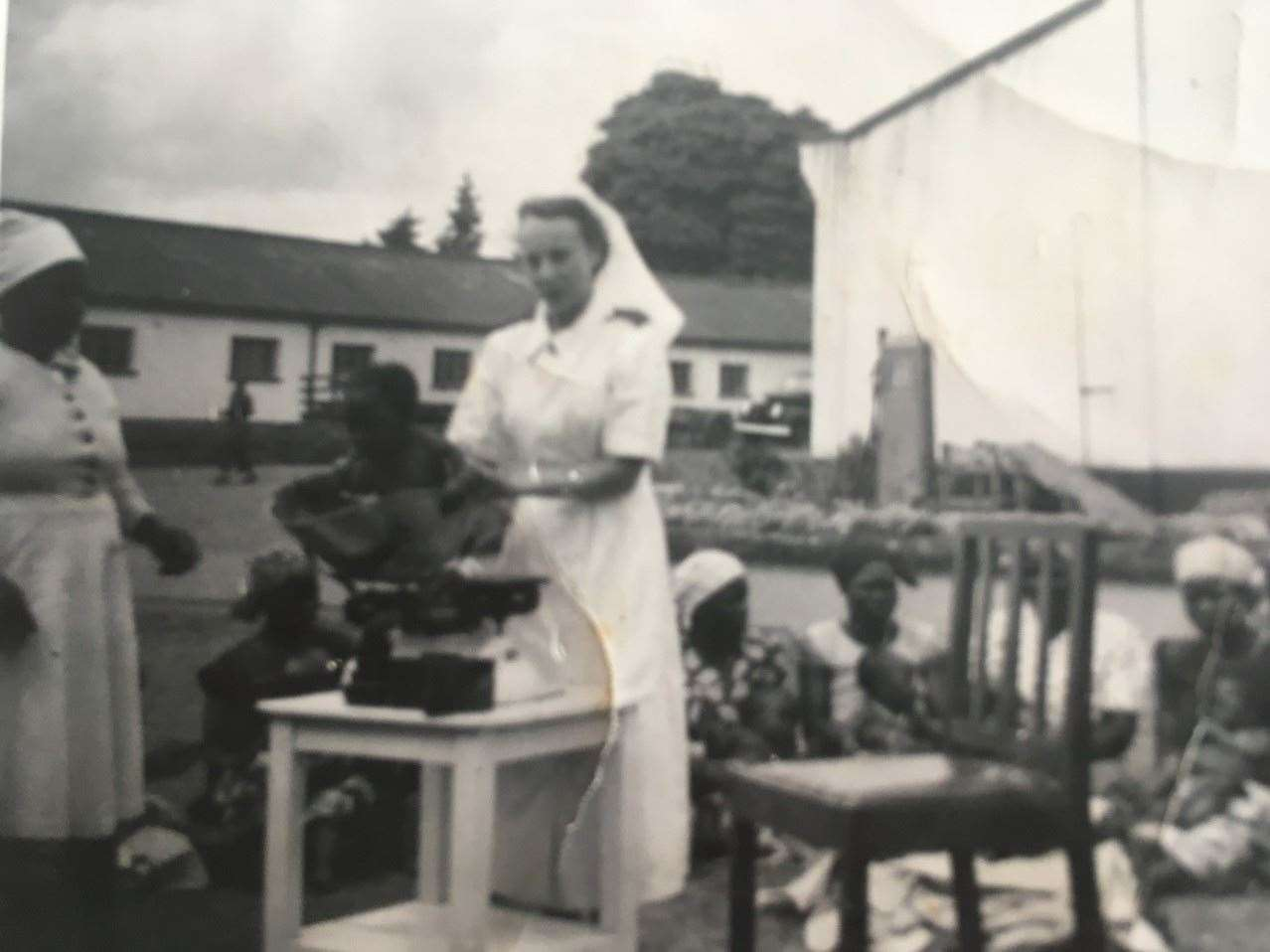 Sybil was a nurse in Zimbabwe. Picture: Lesley Grobler