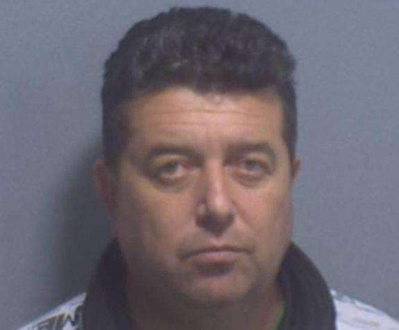 Bulgarian Venelin Nikolov, 45, from Sofia was jailed for 18 months after smuggling 1.5 million cigarettes into the Port of Dover (5976323)
