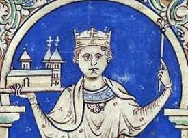 King Stephen holds Faversham Abbey
