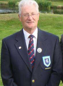 Christopher Tappin, president of the Kent Golf Society