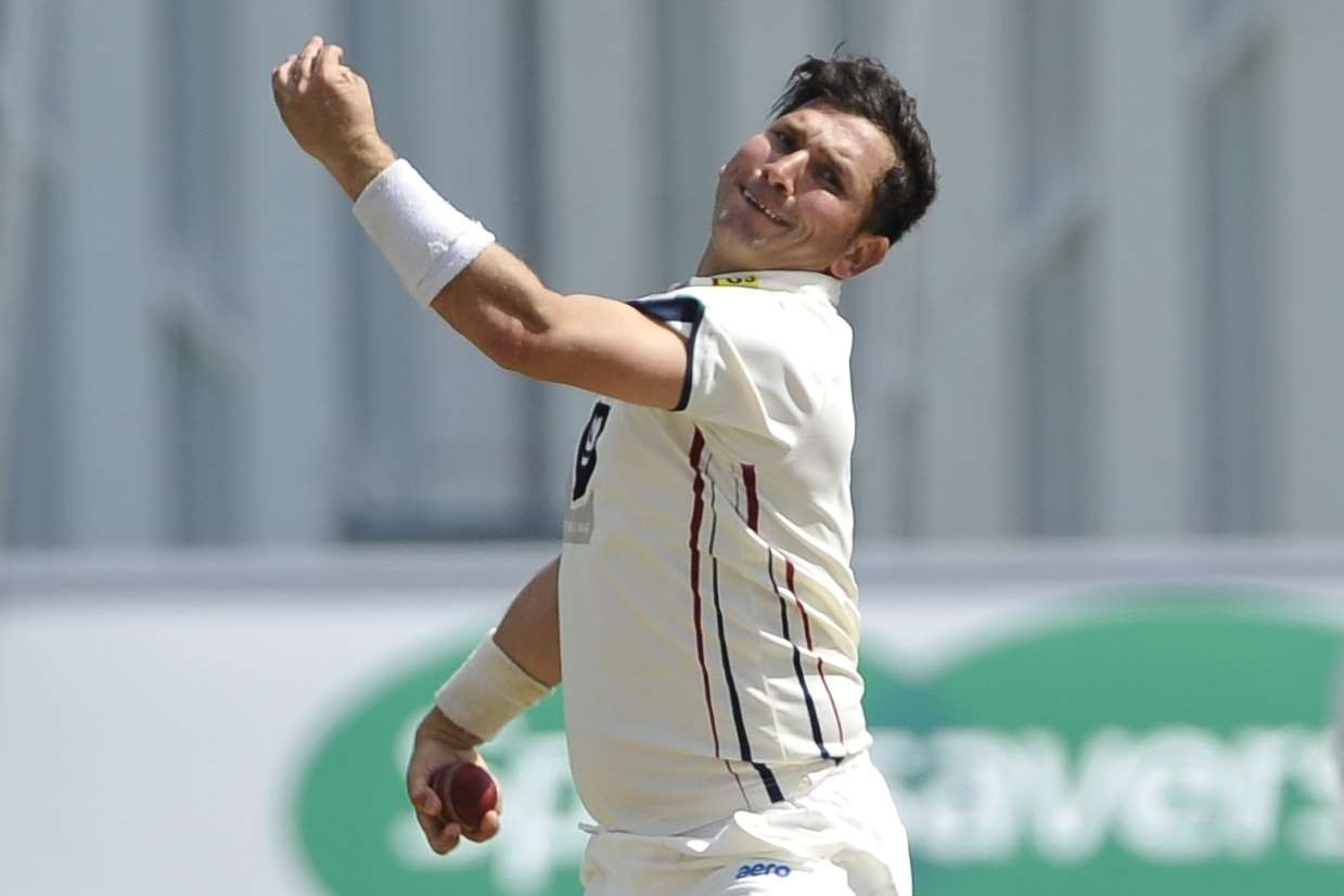 Yasir Shah could be heading back to Canterbury with Pakistan Picture: Ady Kerry