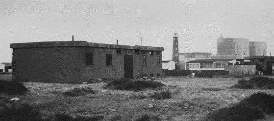 The old Dungeness pumping station.  Photo: MS - DA / JOHNSON NAYLOR