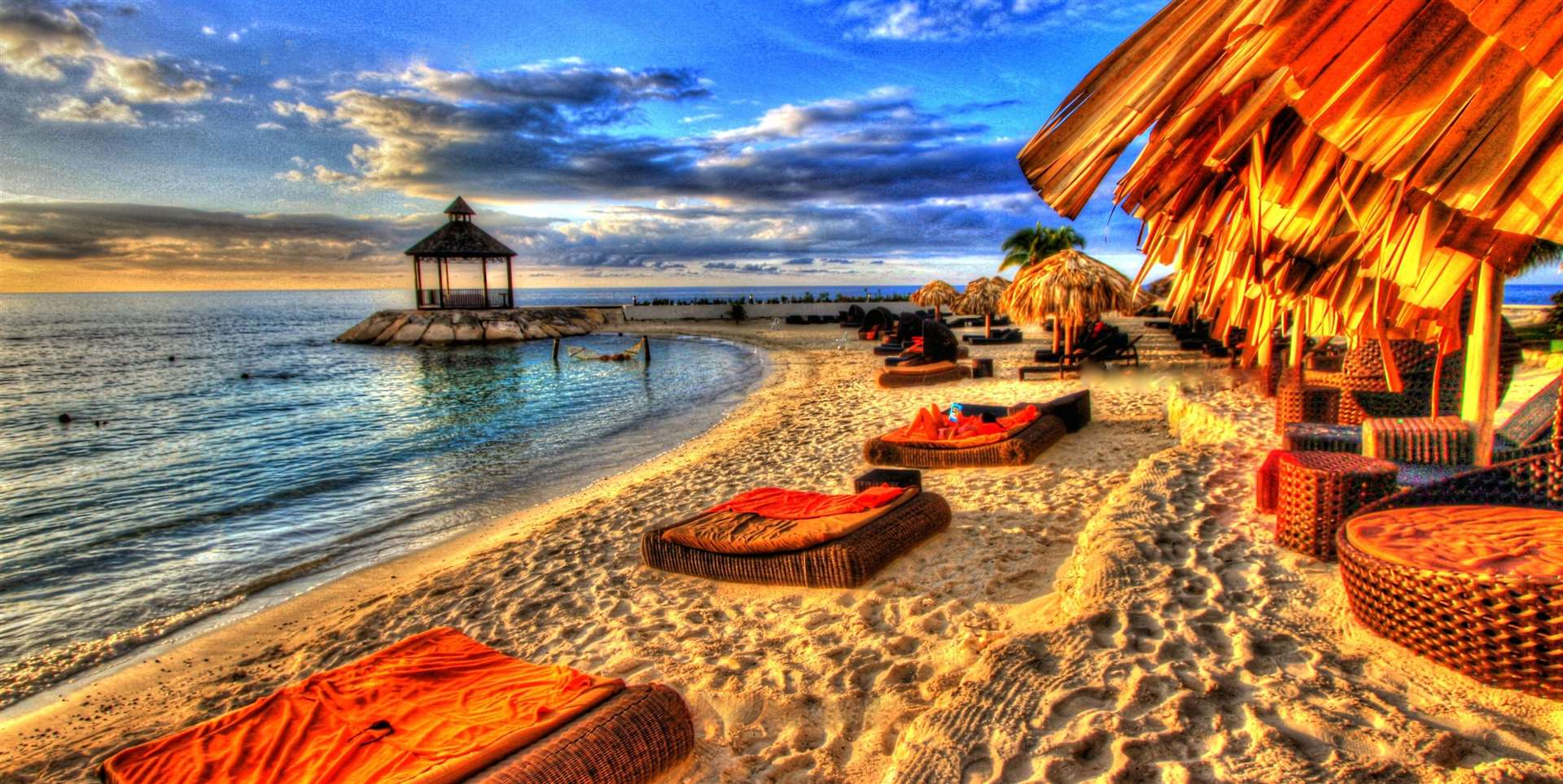 Experience the casual island vibe at Montego Bay in Jamaica.