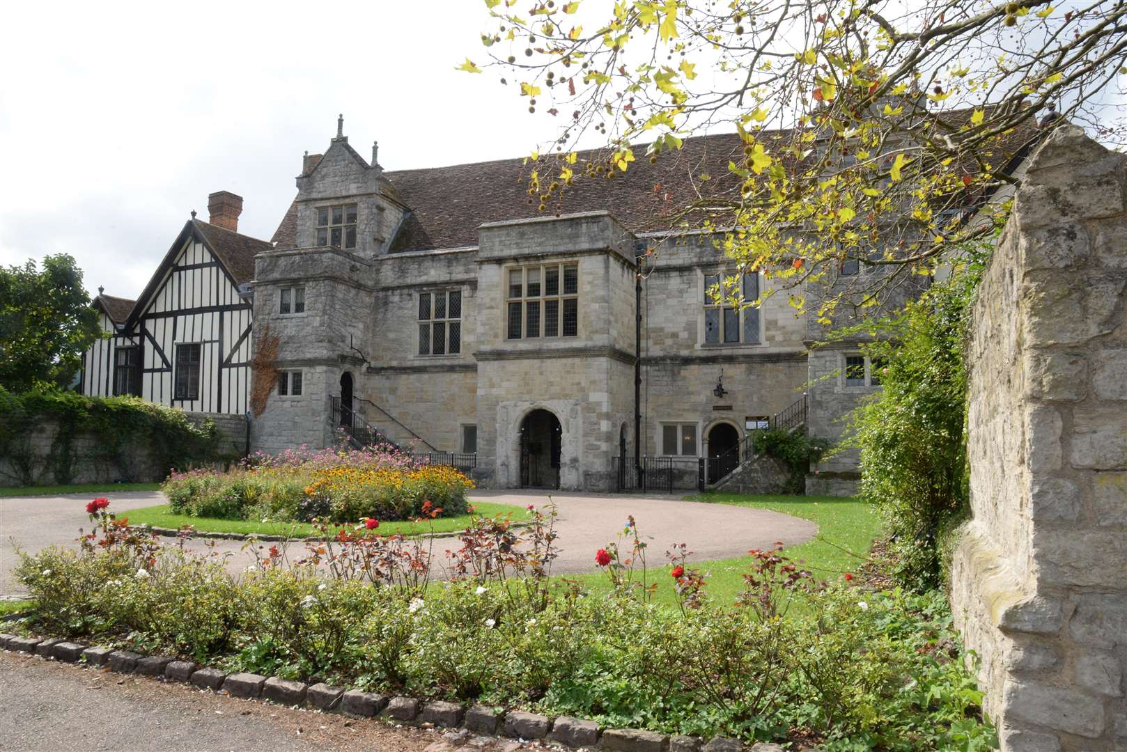 The Archbishops Palace, where the inquest was heard