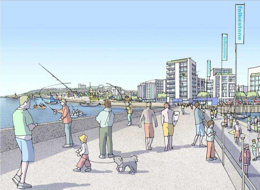 Folkestone Pier Will Be Ready For 2015 Summer Holidays Say