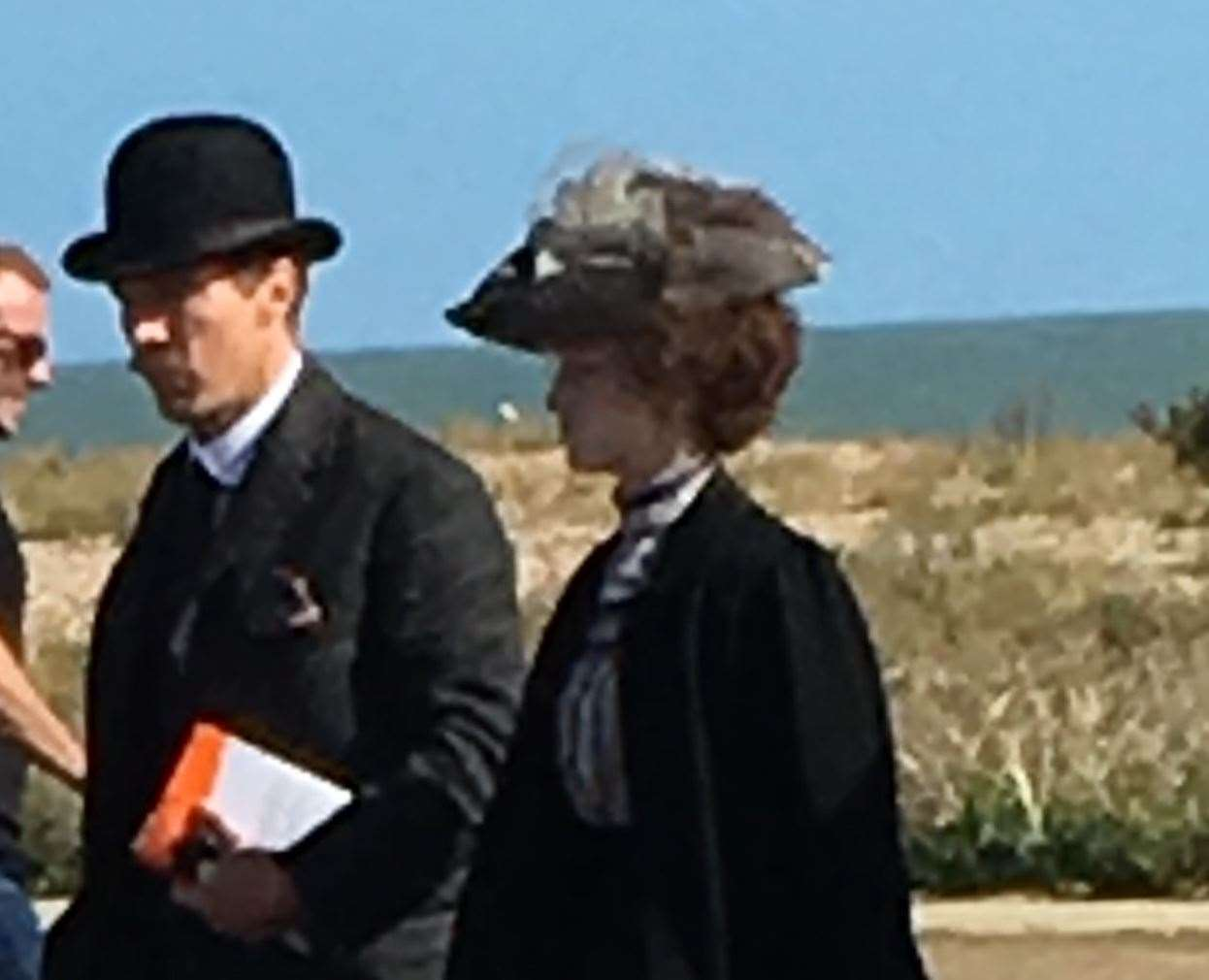 Benedict Cumberbatch has been filming in Deal. Picture: Ann Priestland