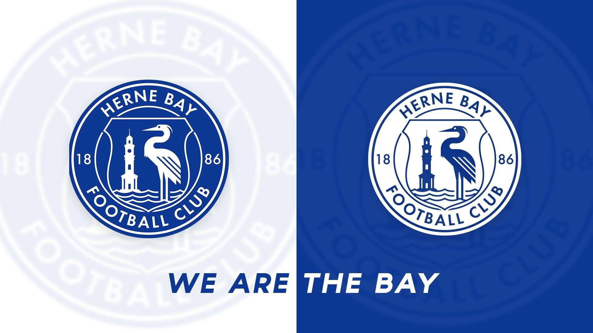 The new look Herne Bay badge(37983299)