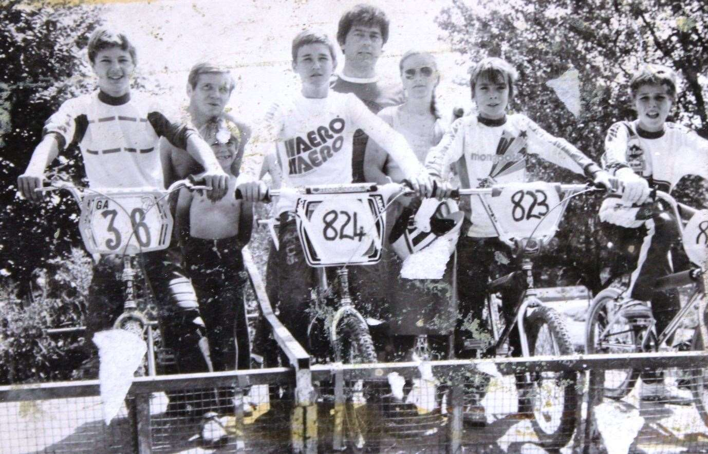 In the 1980s the shop had its own BMX team