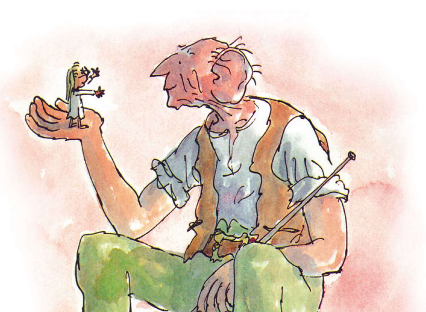 The BFG - Big Friendly Giant, one of Roald Dahl's much-loved stories