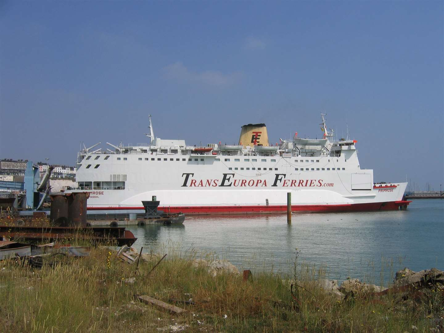 TransEuropa ferries collapsed in 2013