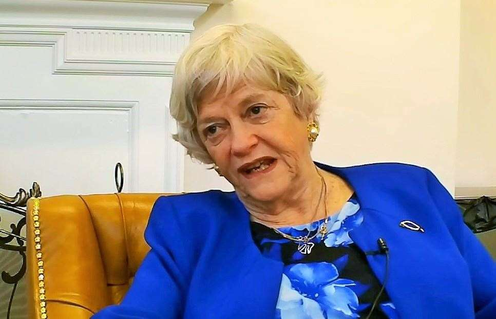 Ann Widdecombe has come under fire
