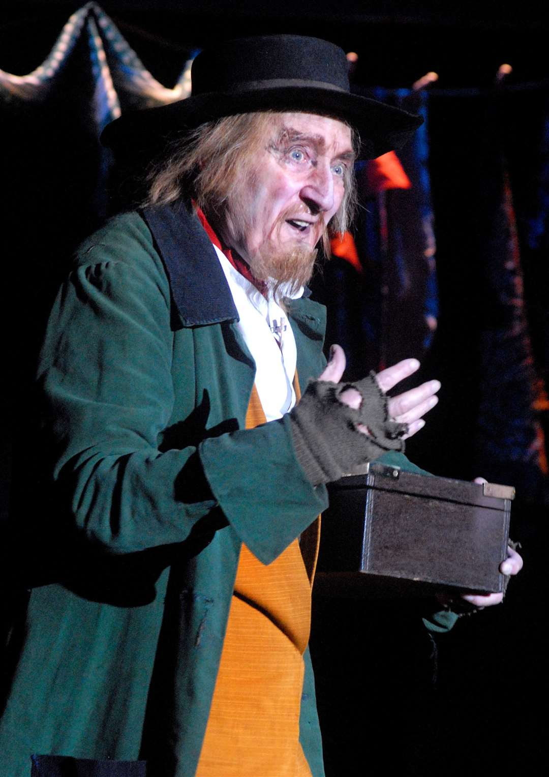 Ron Moody is best known for his starring role as Fagin in Lionel Bart's stage and film musical Oliver! Picture: Paul Clapp