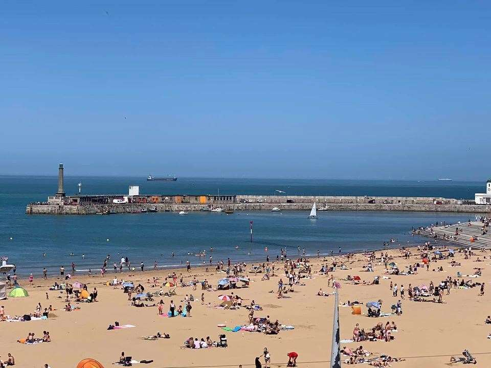 Margate Main Sands, pictured today. Picture: Thanet from my perspective/Facebook