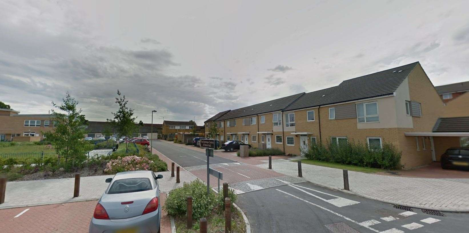 Police were called to Otterden Close after reports of children using catapults. Picture: Google (19032197)