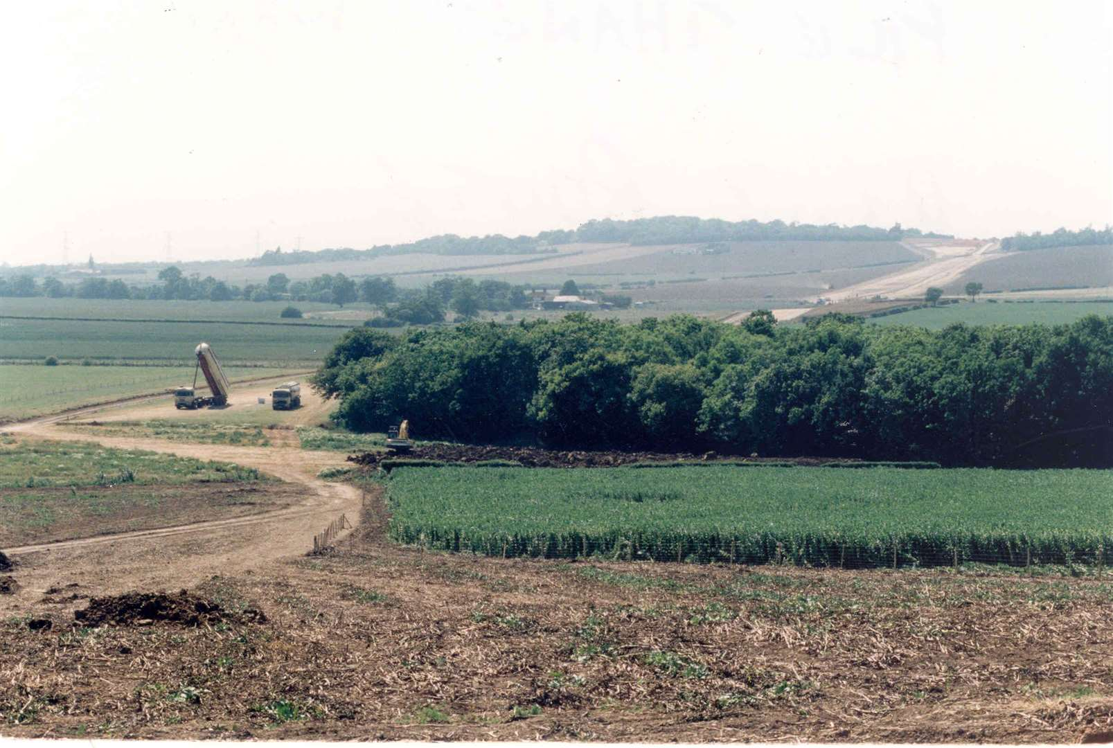Construction of the new Thanet Way