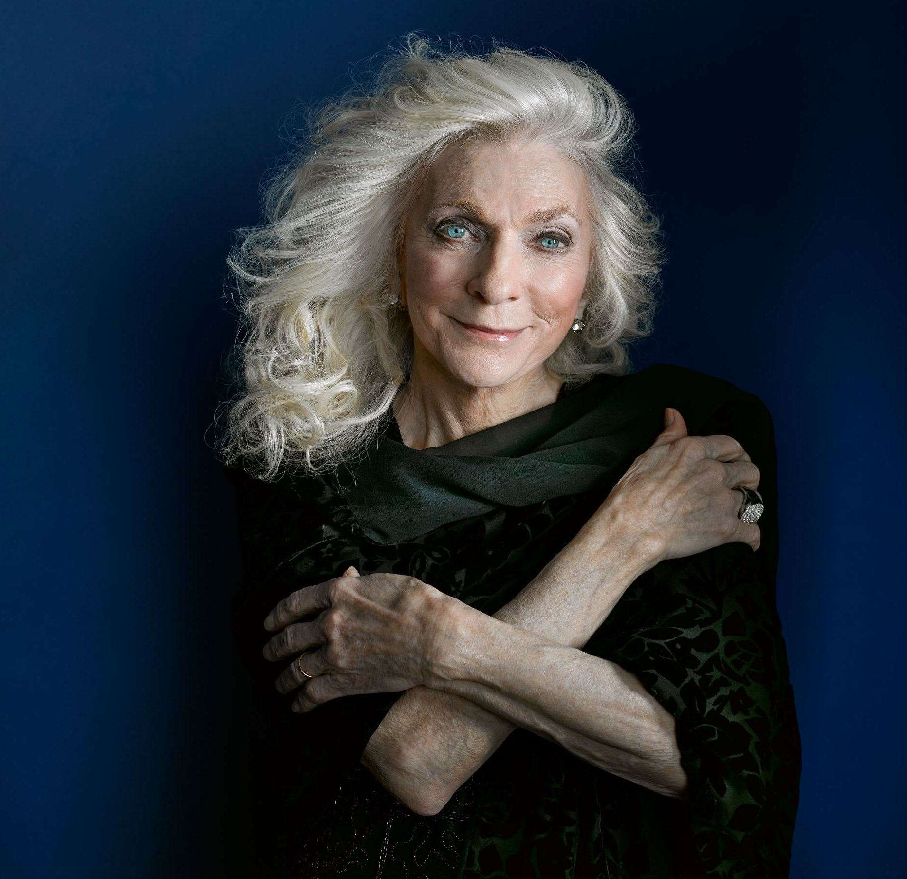 American singer Judy Collins