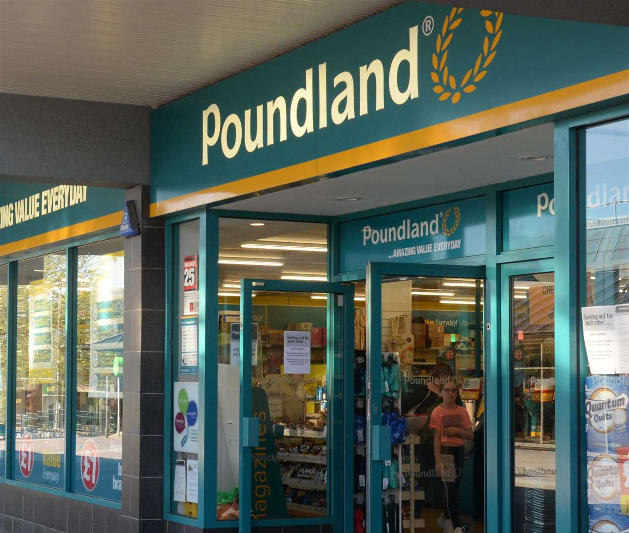 The Poundland stores in Kent will reopen next week