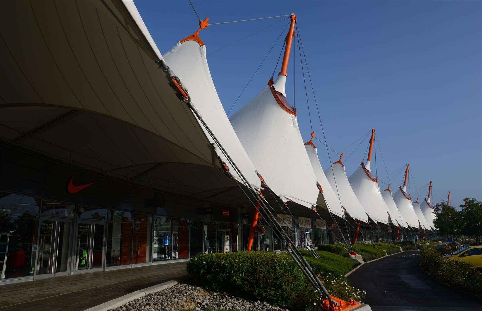 One of Sammy's favourite haunts, the Ashford Designer Outlet
