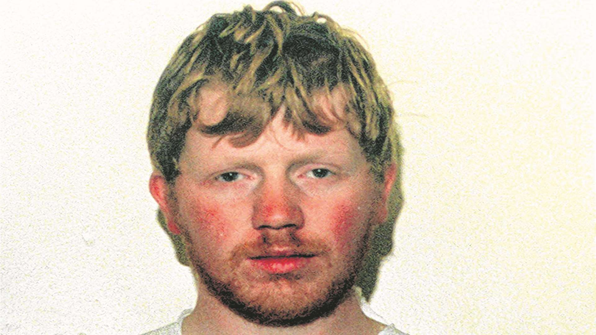 Colin Ash-Smith at the time of his arrest for the knife attack on a woman in Greenhithe in 1995