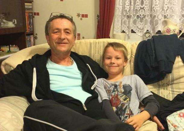 John Westrop with his grandson Ryan (5249141)