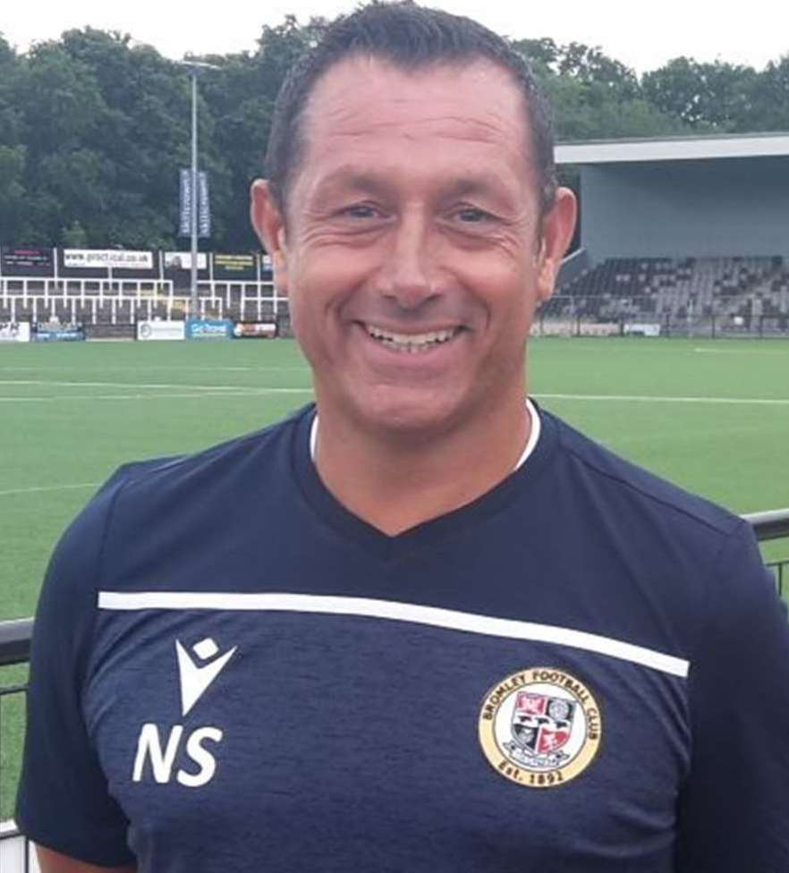 Bromley boss Neil Smith
