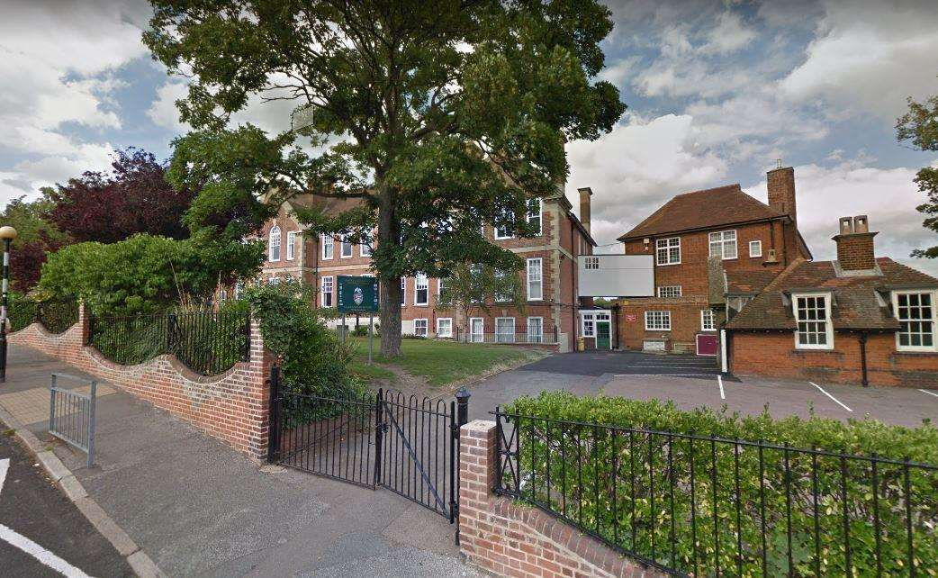 Chatham & Clarendon Grammar School. Picture: Google Street View
